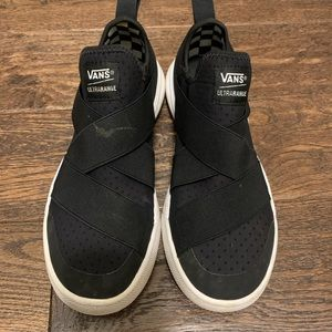 Vans UltraRange slip on black womens size 9.5